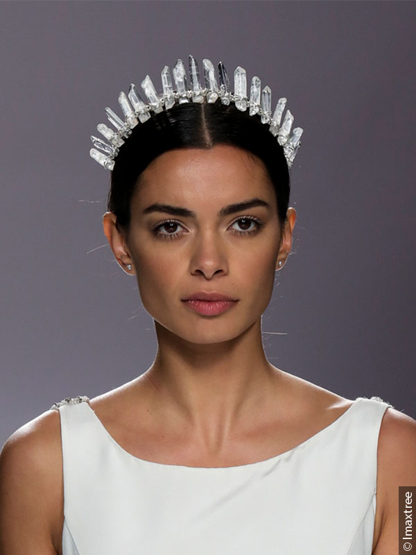 More Is More Wedding Hairstyles With Jewelry And Accessories