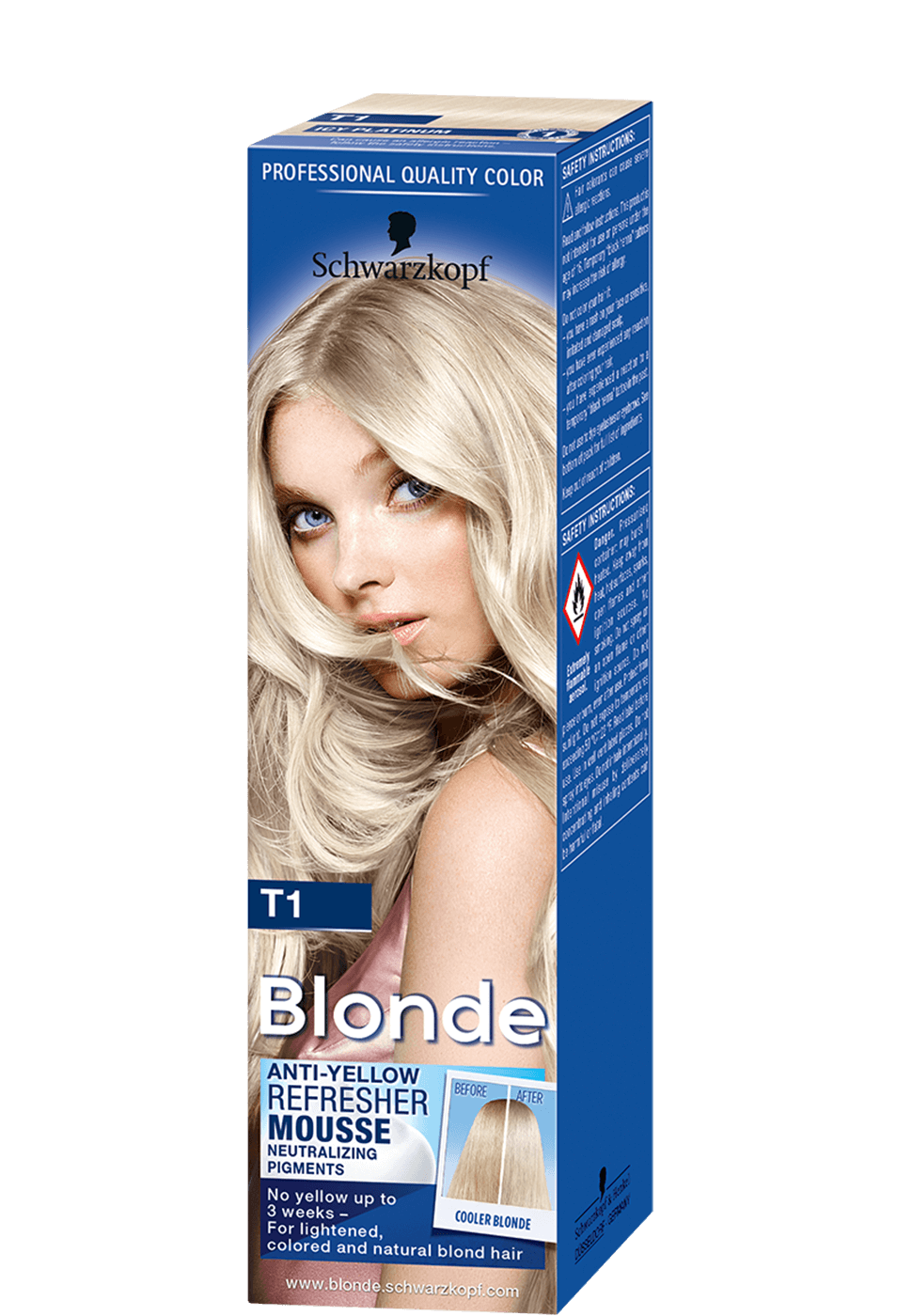 Blonde T1 Anti-Yellow Refresher Mousse