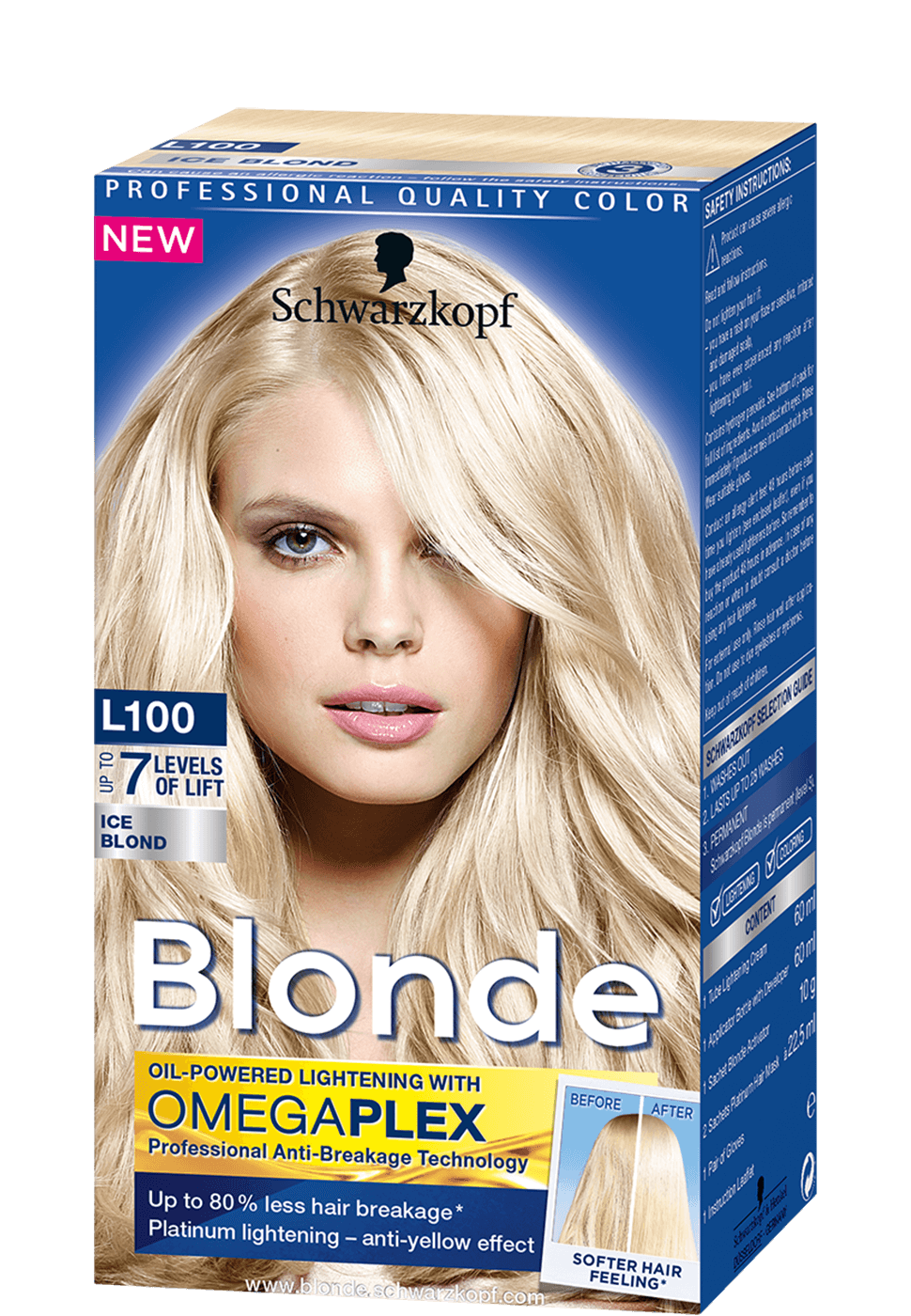 Blonde Lighteners L100 Ice Blond