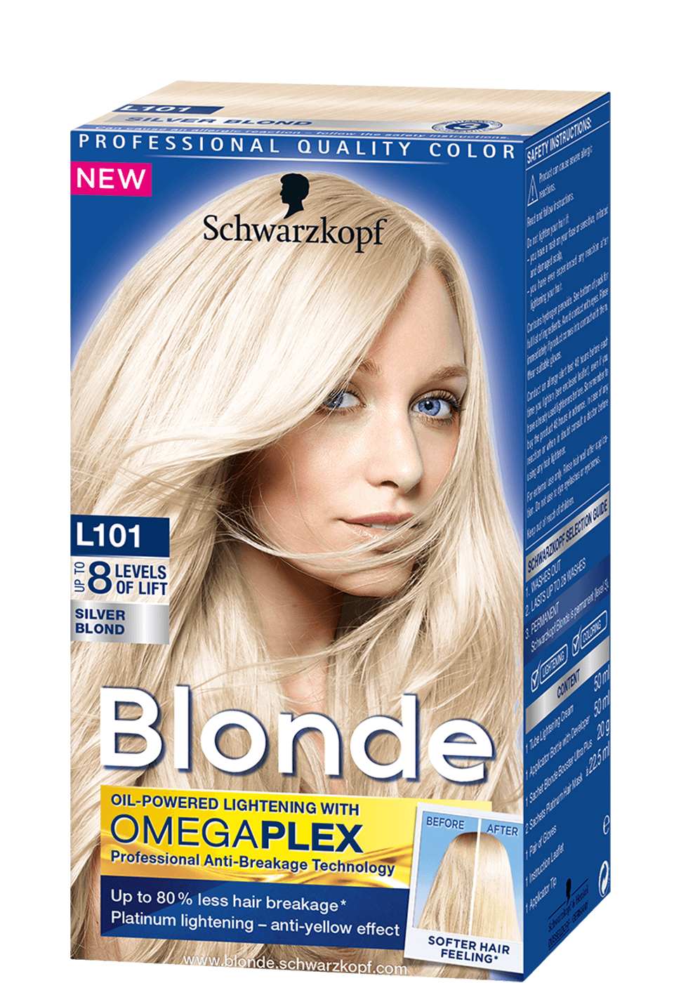 Blonde Lighteners L101 Silver Blond
