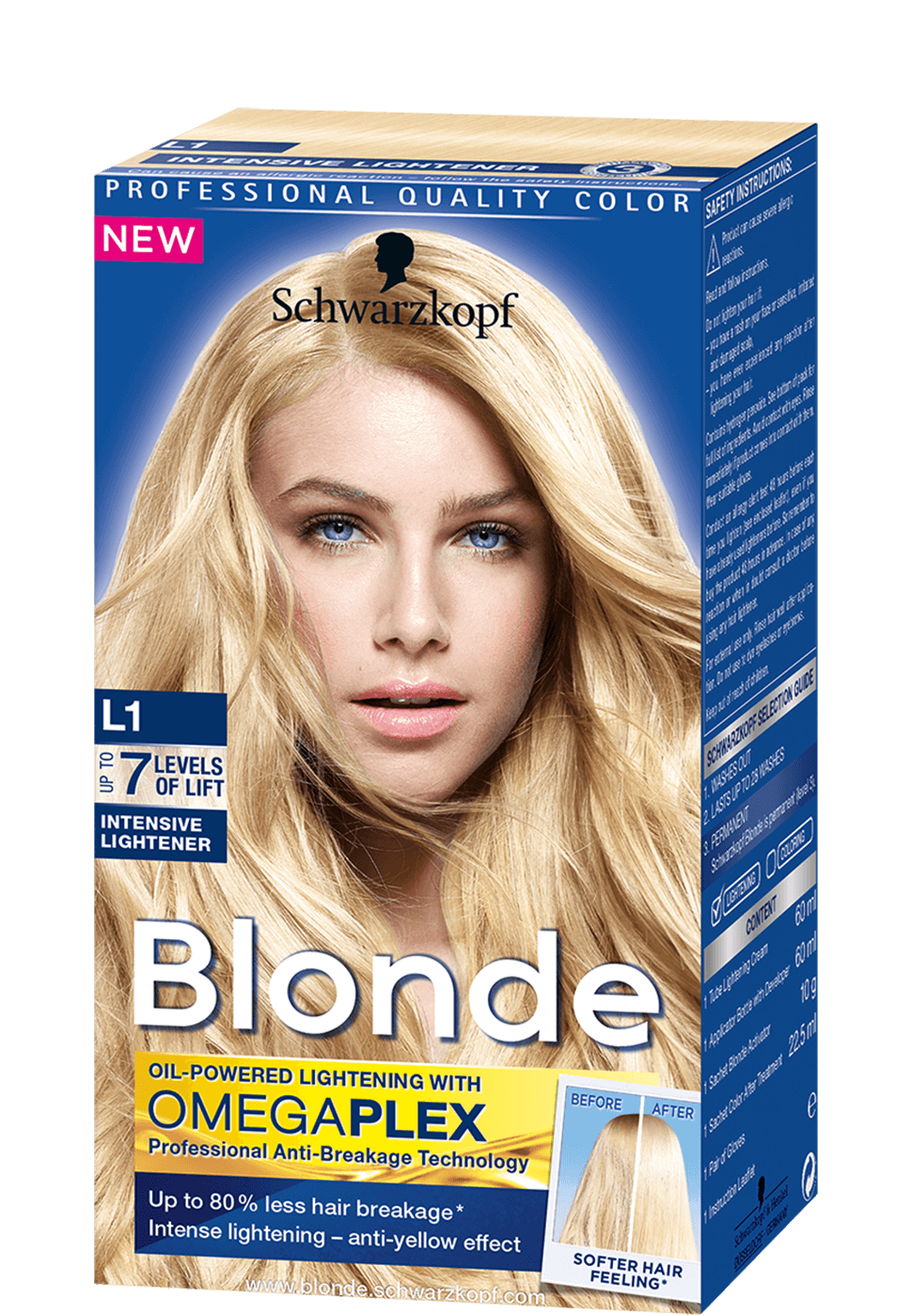 Blonde Lighteners L1 Intensive Lightener