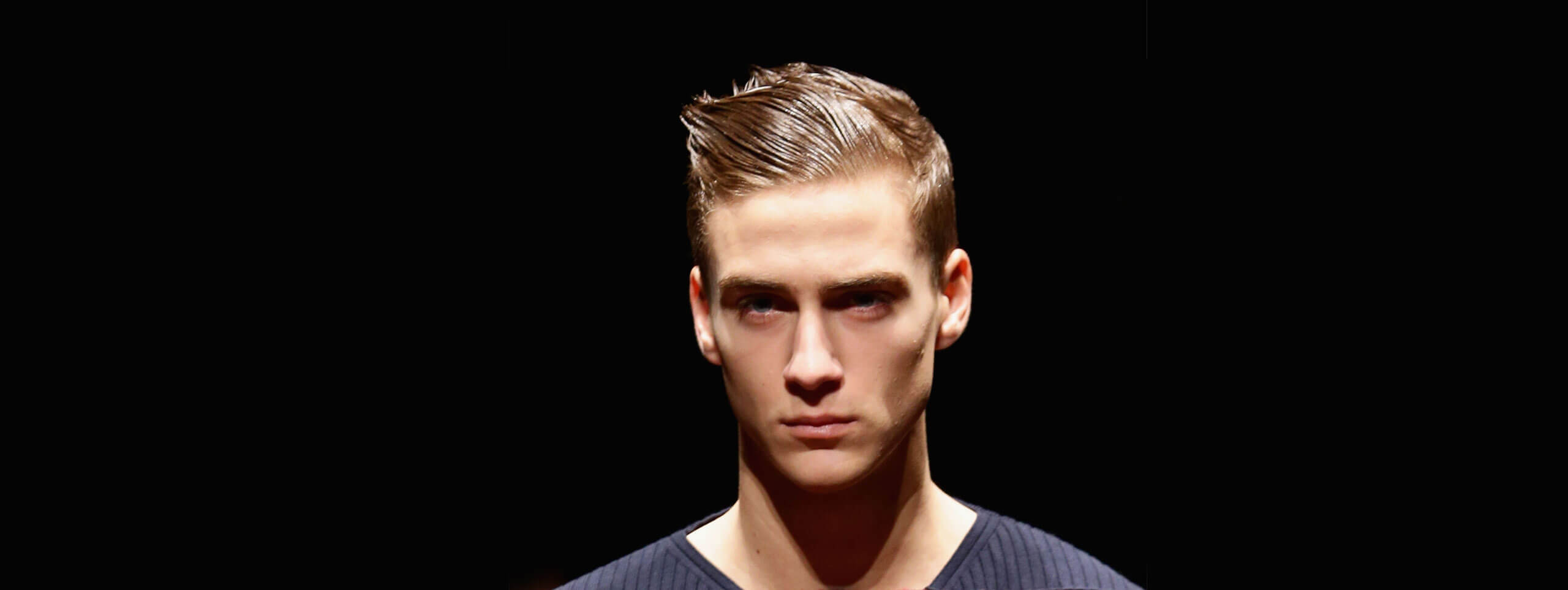 Gel-styled Hairstyles For Men