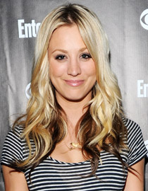 Ombre Hair for Blondes: Kaley Cuoco