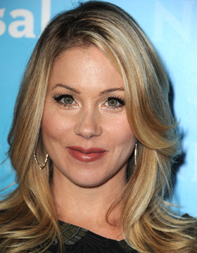 Beige Blonde Christina Applegate