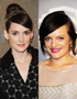 Hairstyles for Brown Hair: Winona Ryder and Elisabeth Moss