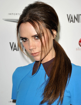 Hairstyles for Brown Hair: Victoria Beckham