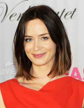 Hairstyles for Brown Hair: Emily Blunt