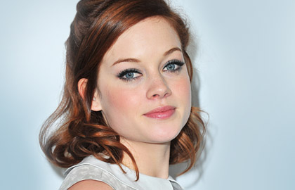 Coppery Red Hair: Jane Levy