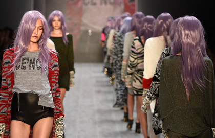 Colour Trend: Purple Hair