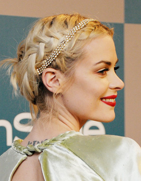 Quick Hairstyles: Jaime King