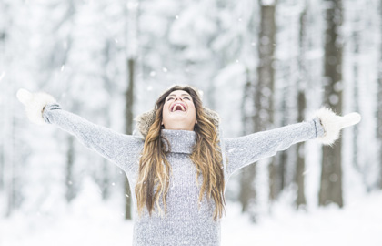 Beauty in the Snow: Hair Care