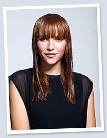 Hair Tutorials: Sleek Fringe