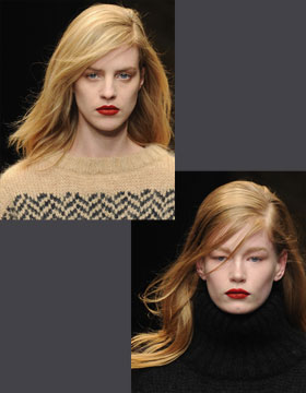Hairstyle Trends 2014: Trussardi