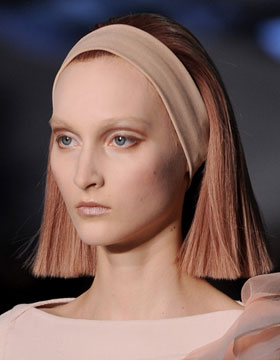 Hairstyle Trends for Fall/Winter 2014: Marc Jacobs