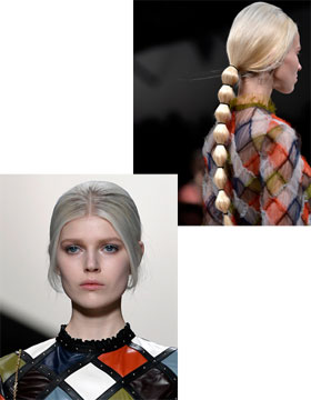 Hairstyle Trends for Fall/Winter 2014: Valentino