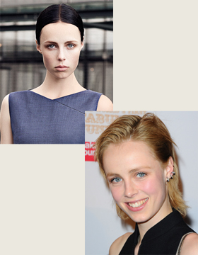 Fashion Models and their Hairstyles: Edie Campbell
