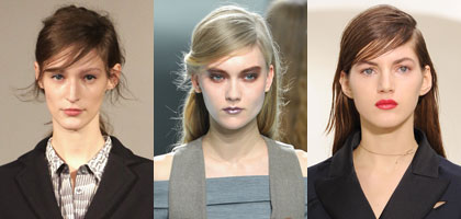 Trendy Hairstyles with Side Parting