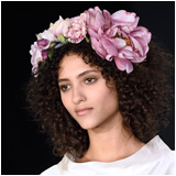Floral Wreath in the Hair