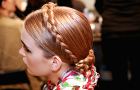 Moschino braided hairstyles