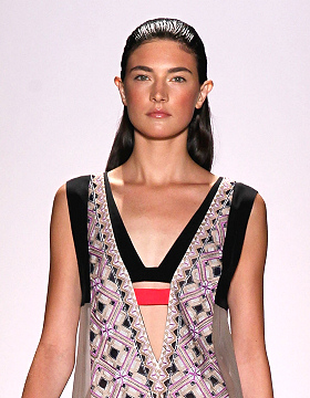 2012 Hair Style Trends New York BCBG Max Azria