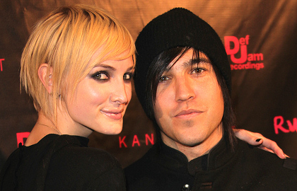 Emo Hair Style: Ashlee Simpson and Pete Wentz