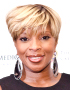 Short Haircut Mary J. Blige