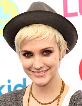 Short Haircut Ashlee Simpson