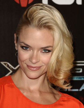 Side Parting Jaime King