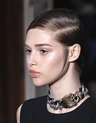 Side Parting the Yves Saint Laurent Style