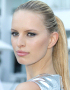 Karolina Kurkova and Her Gel-Structured Ponytail