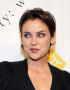 Jessica Stroup Uses a Whisper of Gel for Her Sassy Style