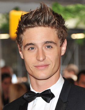 Men's Spiky Hairstyles: Max Irons