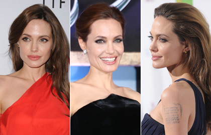 Angelina Jolie's Hairstyles