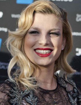 Hairstyles at the Eurovision Song Contest: Emma Marrone