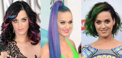 Katy Perry's Hairstyles