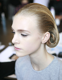 Mock bob by Jil Sander for the spring/summer collection 2012