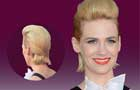 January Jones' Quiff