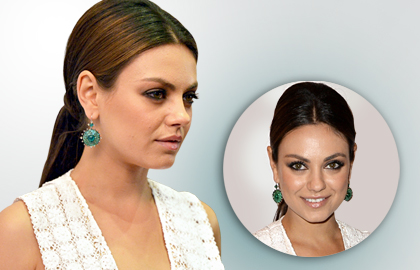 Hairstyle of Mila Kunis