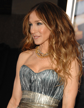 Sarah Jessica Parker Wearing Curls
