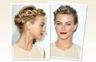 Julianne Hough's Twisted Updo