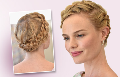 Styling the Kate Bosworth Crown Braid