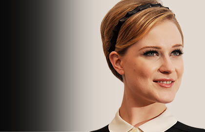 Evan Rachel Wood looks stylish with her retro pixie haircut