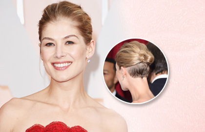 Hair Styling Instructions for the Undercut Chignon