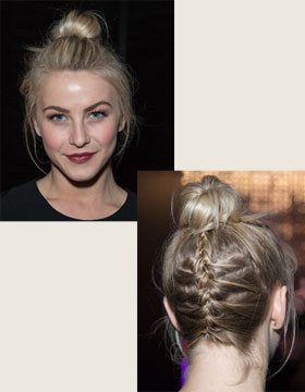 Updos: Julianne Hough