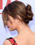Hairdos for Valentine's Day: Romantic chignon