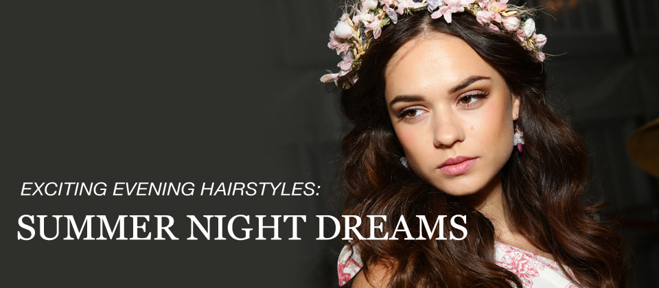 Exciting evening hairstyles