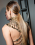 Festive hairstyles: Ponytail with pep