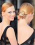 Festive Hairstyles for Christmas: January Jones