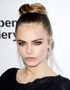 Festive Hairstyles for Christmas: Cara Delevingne