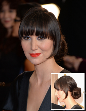 Hairstyles at the Oscar Awards: Karen O